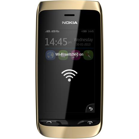 Asha 310 wifi
