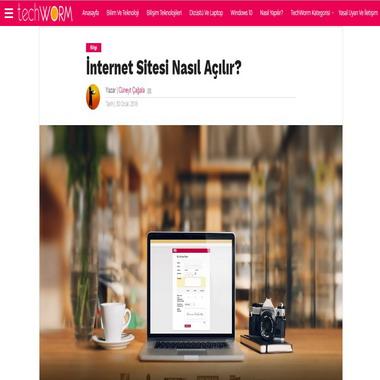 tech worm com - internet sitesi nasıl açılır
