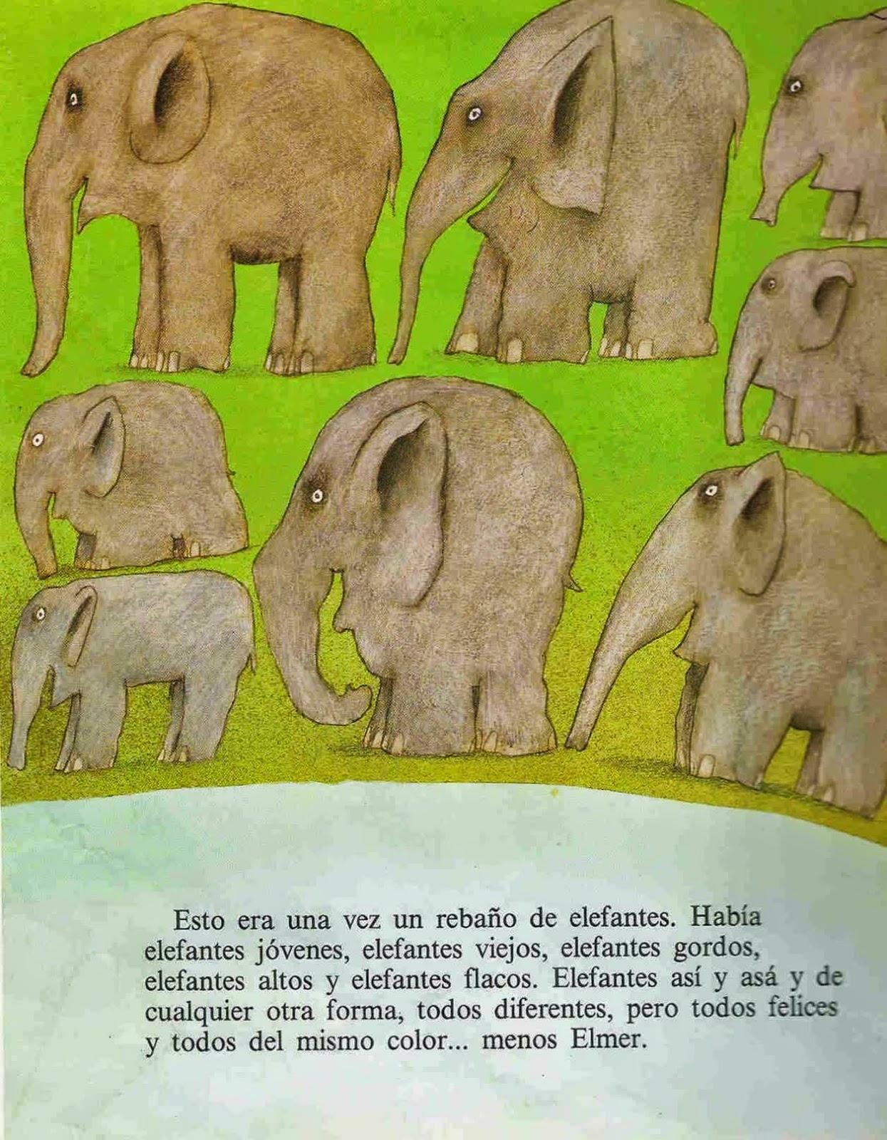 Léeme un cuento para disfrutar (no para aprender): Análisis de Elmer ...