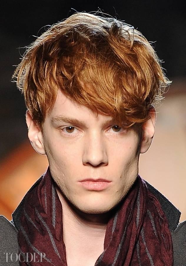 tóc lỡ nhiều lớp - kiểu tóc nam đẹp 2013