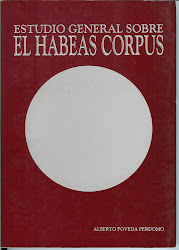 ESTUDIO GENERAL SOBRE EL HABEAS CORPUS