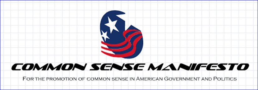 Common Sense Manifesto