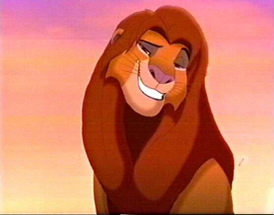 El rey León 4: ¡¡¡¡El maligno despertar de Kovu!!!!¡¡¡¡Kopa regresa!!!!¡¡¡¡la venganza de Kuntra!!!! - Página 2 Simba+sonriendo