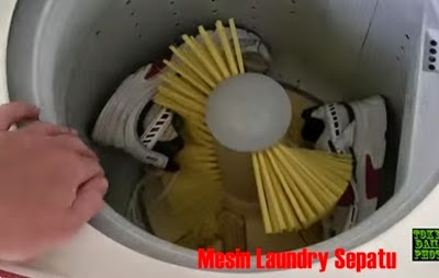mesin cuci sepatu