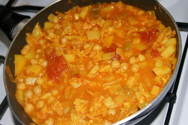 curry z ciecierzyca