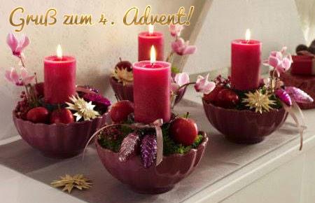 Weihnachtsbilder 4 advent grussbilder - Advent hintergrundbilder ...