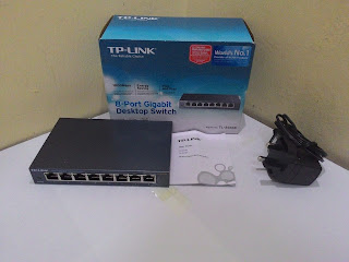 TP-Link 8-Port Gigabit Desktop Switch TL-SG108