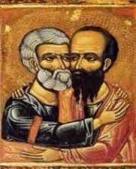 Icoana Sf Petru si Pavel
