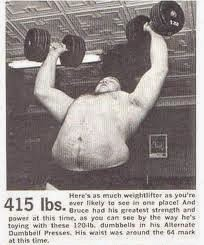 Strength Fighter Mr Universe 1959 Bruce Randall Amazing