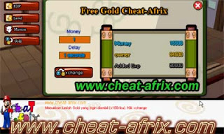 Cheat ATM Exp Ninja Saga Juni 2013 Delay 10 Sec
