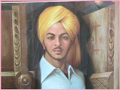 Bhagat Singh Shaheed Biography about him the legend College Pictures/Photos/images in Hindi
