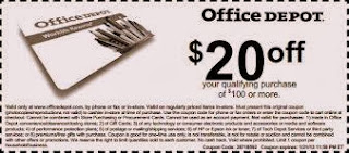Office depot promo codes