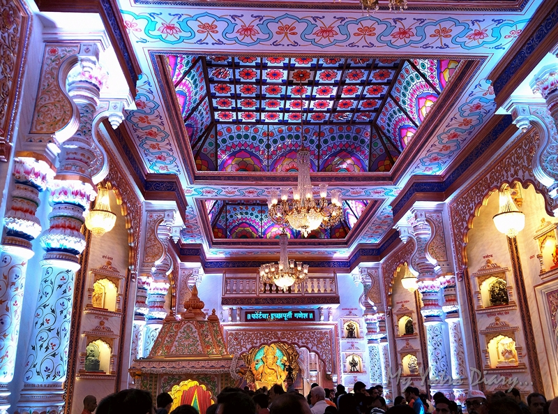 Stunning spplendour of palatial Fortcha Icchapurti Ganesha, Ganesh Pandal Hopping, Mumbai
