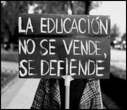 La Educación NO SE VENDE