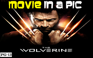 the wolverine, movie in a pic infographic