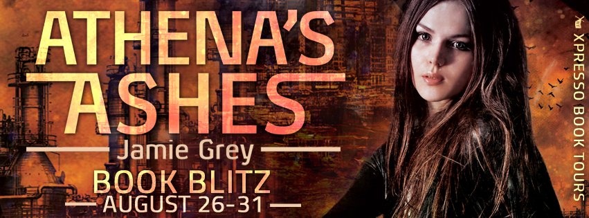 Book Blitz: Athena's Ashes By Jamie Grey