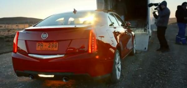 GM y su Cadillac ATS en Tierra del Fuego