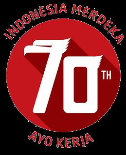 Logo HUT Ke-70 RI