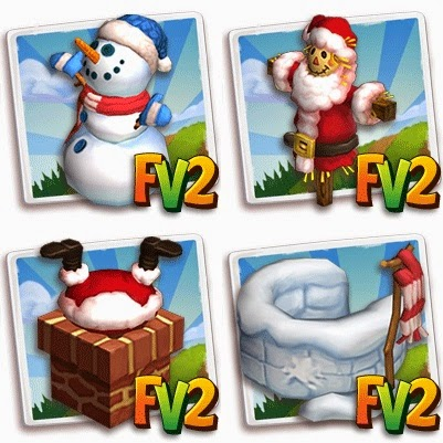 Farmville 2 winter holiday theme decorations codes for Farmville 2 decorations