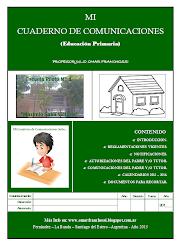 MI CUADERNO DE COMUNICACIONES (Educación Primaria)