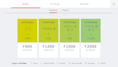 Airtel 4G Plan