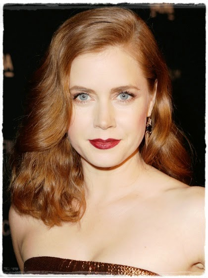 fair skin - Amy Adams :Brownish Copper