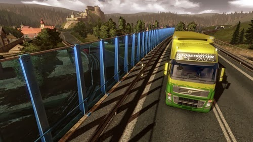 Euro Truck Simulator 2 v1.70 + DLC Going East e Halloween - PC