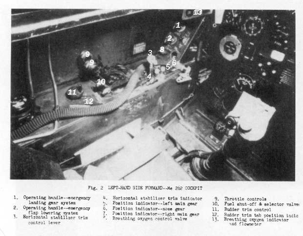 me 262 cockpit coloring pages - photo#24