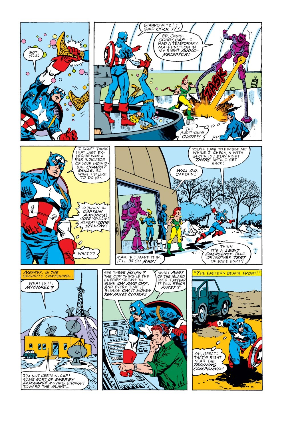 Captain America (1968) Issue #352 #284 - English 4