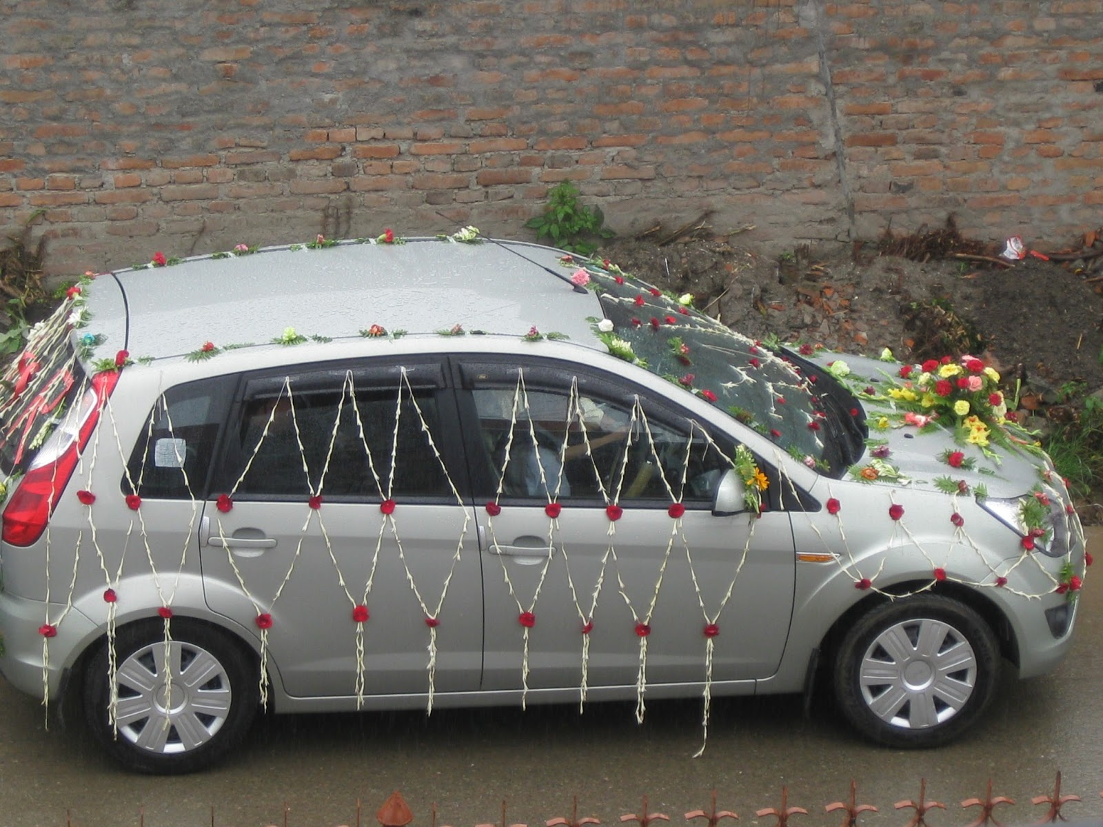 Ephesians 320 july 2013 it is wedding season here in nepal and same as in the us it is traditional for the wedding car to be decorated this particular wedding car was followed junglespirit Image collections