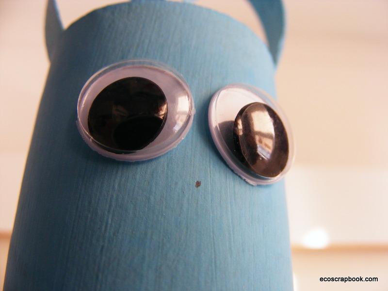ecoscrapbook easter kid 39 s craft toilet paper roll bunnies. Black Bedroom Furniture Sets. Home Design Ideas