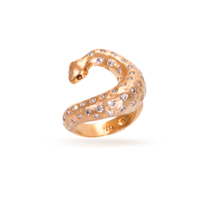 jewelry blog snake ring in bronze