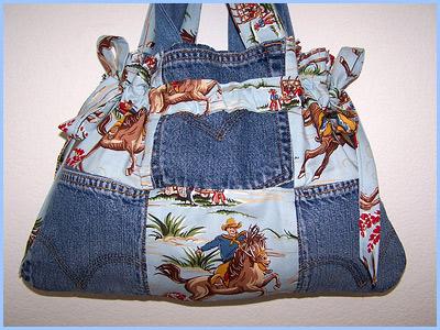 джинсовая сумка своими руками