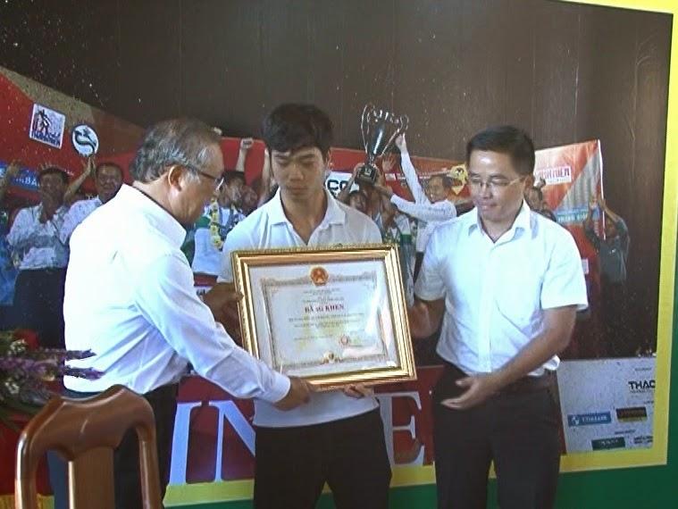 Gia Lai: Chủ tịch UBND tỉnh khen thưởng đội U19 HAGL