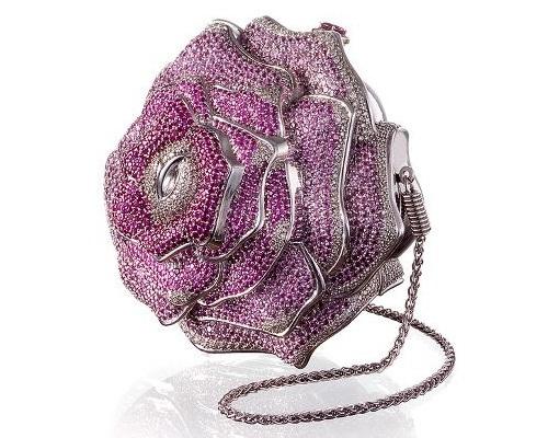7. Leiber Precious Rose Bag