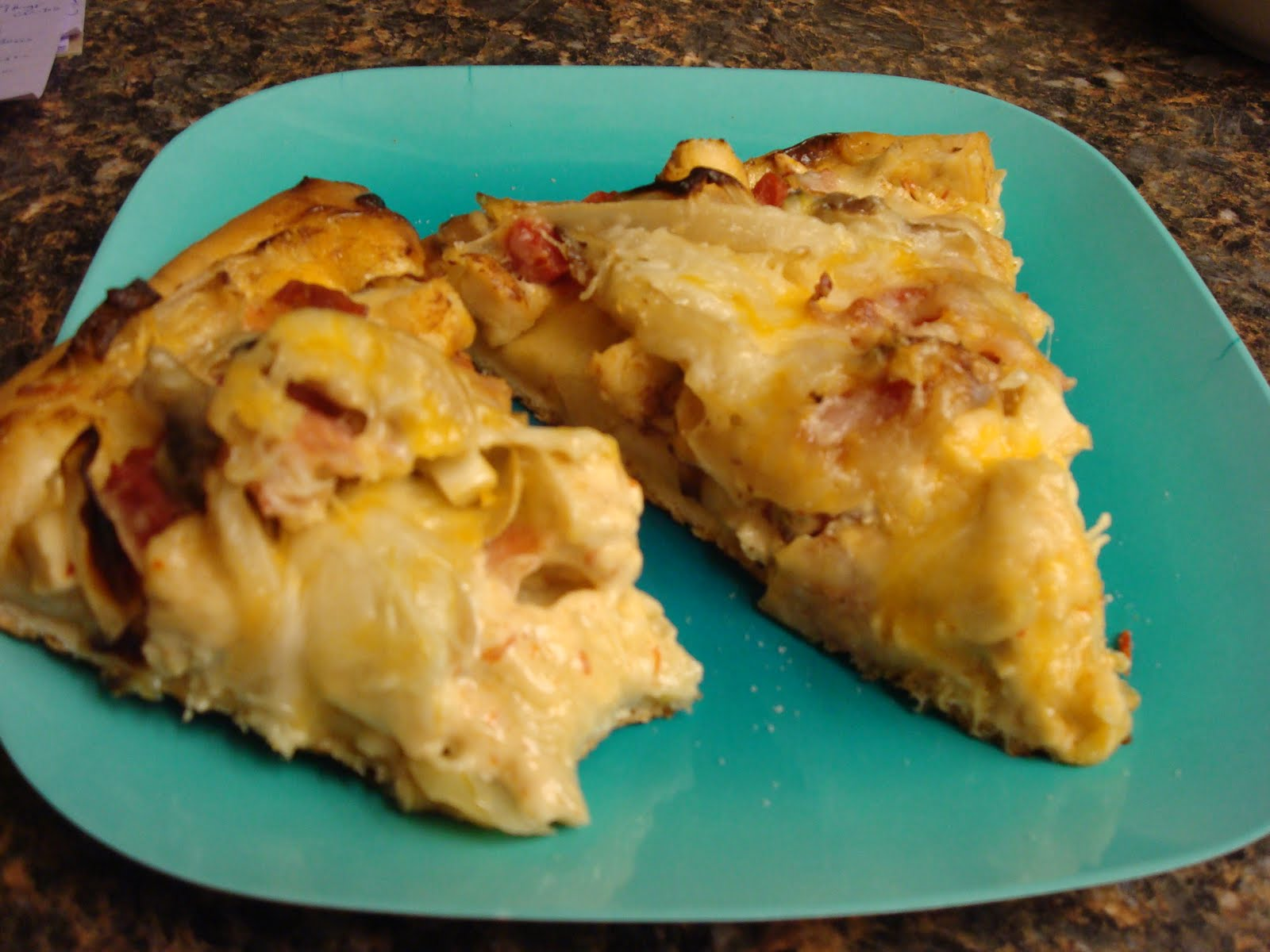 ... Bacon Chipotle Ranch Pizza and The Best Basic Pizza Dough Recipe