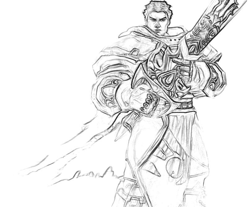 League of legends garen yumiko fujiwara for League of legends coloring pages