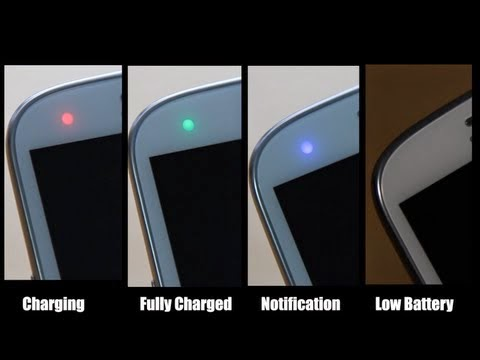 Led notification