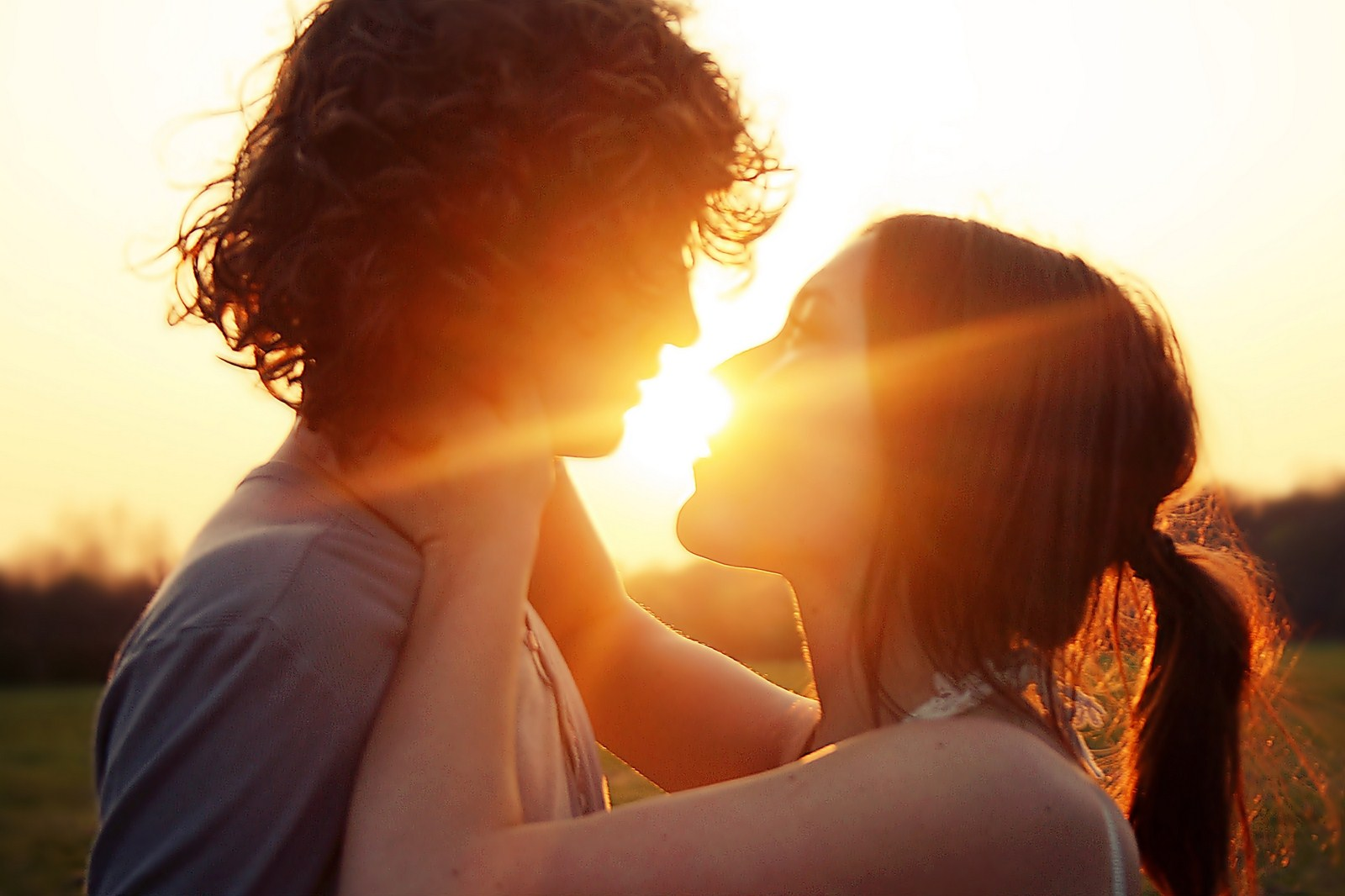 Sun Summer Love couple Magic Moment Mood Romance Photo HD ...