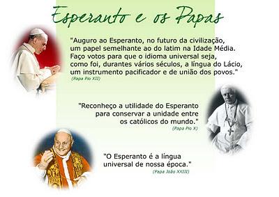 Os Papas e o Esperanto