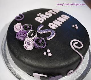 Svart tårta