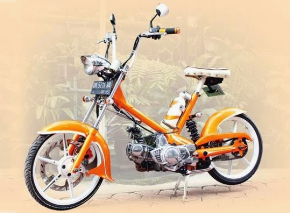 Modifikasi Honda 70 Copper