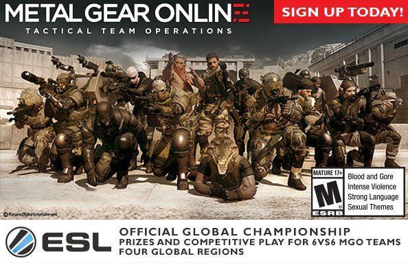 Championnat du Monde de METAL GEAR ONLINE - Konami / ESL