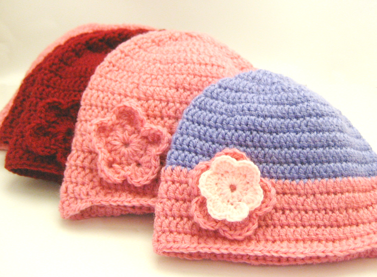 Beginner Crochet Patterns Beanie : Double Crochet Beanie Tutorial (for charity) - All Wrapped Up