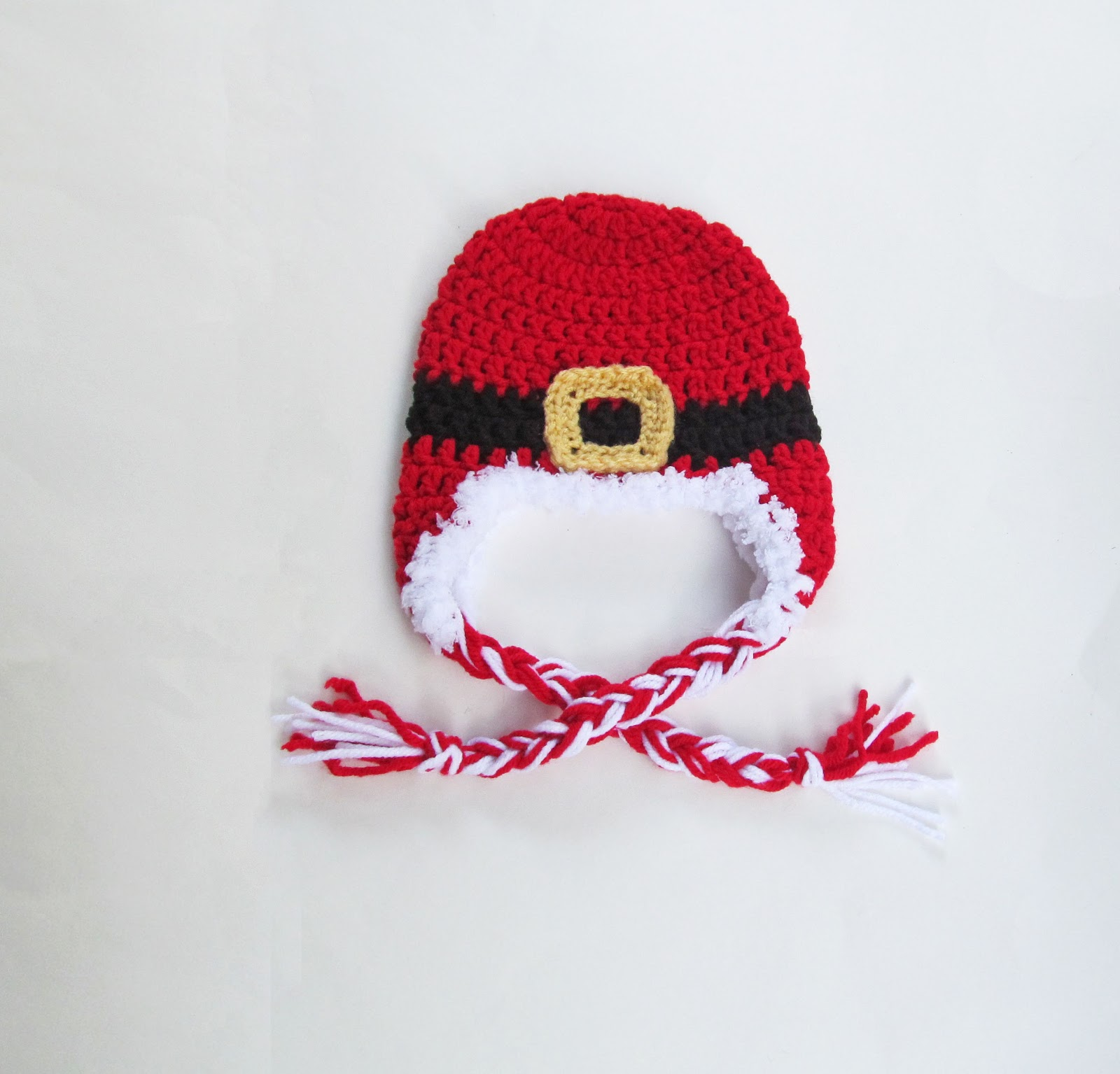 Free Crochet Pattern For Santa Hat : Tampa Bay Crochet: Free Crochet Pattern: Baby Santa ...