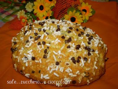torta da colazione....con marmellata e cioccolato