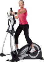Menghilangkan Lemak di perut dengan Elliptical Trainer