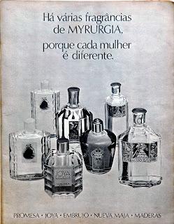 propaganda perfumes Myrurgia - 1975. 1975. propaganda década de 70. Oswaldo Hernandez. anos 70. Reclame anos 70