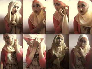 Cara memakai jilbab modern dengan video pakai kerudung atau hijab model terbaru agar tampak lebih cantik update