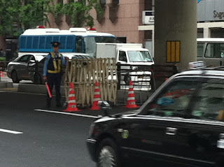 Police security in Tokyo